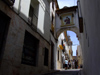 Spain - Oliva - Streetscene - arch - photo by M.Bergsma