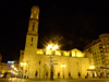 Spain - Valencia - Iglesia de San Agustín - nocturnal - photo by M.Bergsma