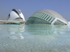 Spain - Valencia - Valencia - The Hemispheric and Palace of the Arts - photo by M.Bergsma
