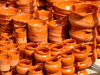 Spain - Valencia - Pottery at the market - photo by M.Bergsma