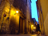Spain - Valencia - Street scene nocturnal - photo by M.Bergsma