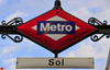 Madrid, Spain / Espa�a: metro sign - Sol station - Puerta del Sol - photo by M.Torres