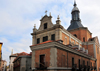 Madrid, Spain: barroque military church - Iglesia Arzobispal Castrense - Calle Mayor, Calle del Sacramento - photo by M.Torres