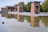 Spain / Espa�a - Madrid: Egyptian temple of Debod, brought from Aswan - built by Pharaoh Zakheramon - Parque del Oeste - photo by M.Torres
