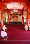 Colombo, Sri Lanka: prayer hall - Jami-Ul-Alfar Mosque - Pettah - photo by M.Torres
