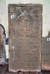 Colombo, Sri Lanka: Durch tombstone - Dutch Period Museum - Pettah - photo by M.Torres