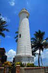 Galle, Southern Province, Sri Lanka: the lighthouse - Point Utrecht bastion - Old Town - photo by M.Torres