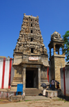 Galle, Southern Province, Sri Lanka: Hindu temple - Mandir, called Koil in Tamil - photo by M.Torres
