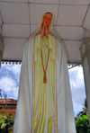 Galle, Southern Province, Sri Lanka: the Virgin Mary - small shrine near St. Mary's catholic cathedral - photo by M.Torres