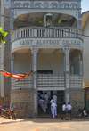 Galle, Southern Province, Sri Lanka: Saint Aloysius' College - Jesuit school - Kaluwella - photo by M.Torres