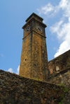 Galle, Southern Province, Sri Lanka: clock tower - Galle Fort, the Old Town - UNESCO World Heritage Site - photo by M.Torres