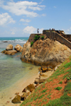 Galle, Southern Province, Sri Lanka: Flag Rock - Galle Fort - Old Town - UNESCO World Heritage Site - photo by M.Torres