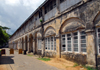 Galle, Southern Province, Sri Lanka: local highway patrol HQ - Hospital st. - Old Town - UNESCO World Heritage Site - photo by M.Torres