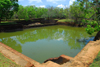Sigiriya, Central Province, Sri Lanka: pool in the garden complex - Unesco World Heritage site - photo by M.Torres