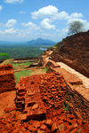Sigiriya, Central Province, Sri Lanka: view from the top - landscape - Unesco World Heritage site - photo by M.Torres