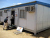 Sudan - Juba - Central Equatoria state: container - UNFPA Headquarters (United Nations Population Fund) - photo by L.Gewalli