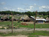 Sudan - Juba - Central Equatoria state: huts in the administrative centre of South Sudan - photo by L.Gewalli