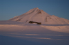 Svalbard, Norway - Spitsbergen island: Hiorthhamn: hut at sunset - photo by A. Ferrari