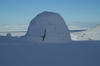 Svalbard - Spitsbergen island - Björndalen: Igloo - photo by A. Ferrari