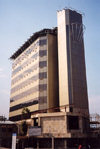 Swaziland - Mbabane / QMN: Central Bank of Swaziland - Umntshli Building, Warner street - photo by Miguel Torres