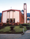 Swaziland - Mbabane: church and campanile - photo by Miguel Torres