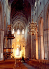 Sweden - Uppsala (Uppsala Lan): nave of the Cathedral (photo by Miguel Torres)