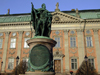 Stockholm, Sweden: Riddarhuset - statue of Gustav II Adolph - photo by M.Bergsma
