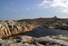 Sweden - Marstrand island (V�stra G�tlands L�n): rocky landscape by the fort - fortress Carlsten (photo by Cornelia Schmidt)