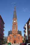 Sweden - Helsingborg  (Skane Lan): Lutheran church (photo by Charlie Blam)