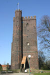 Sweden - Helsingborg (Skane Lan / Scania county): tower from the Swedish-Danish wars (photo by Charlie Blam)