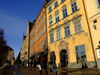 Sweden - Stockholm: fa�ades of the old town - Gamla Stan (photo by M.Bergsma)