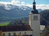 Switzerland / Suisse / Schweiz / Svizzera -  Gruyères: St-Théodule church / eglise St-Theodule (photo by Christian Roux)
