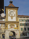 Switzerland / Suisse / Schweiz / Svizzera -  Murten / Morat: Bern gate / port de Bern (photo by Christian Roux)