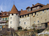 Switzerland / Suisse / Schweiz / Svizzera -  Murten / Morat: ramparts / remparts II (photo by Christian Roux)