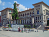Switzerland - Suisse - Lausanne: Riponne square - University of Lausanne - Palais de Rumine / place de la Riponne - photo by C.Roux