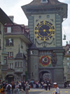 Bern / Berne: clock tower gate - Zeitglockentur (photo by Christian Roux)