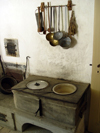 Ballenberg - open air museum: kitchen - 1780 / cuisine - photo by C.Roux