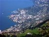 Switzerland - Rochers de Naye: view towards the Montreux riviera (photo by Christian Roux)
