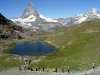 Switzerland / Suisse / Schweiz / Svizzera - Matterhorn / Mont Cervin / Cervino: lake Riffel / Riffelsee (photo by C.Roux)