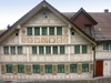 Herisau: traditional building (photo by Christian Roux)