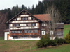 Appenzell region: typical house (photo by Christian Roux)