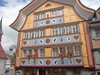 Appenzell: bears and hearts - Swiss façade decoration (photo by Christian Roux)
