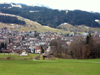 Appenzell (Appenzell Innerrhoden / Rhodes-Intérieures / Appenzell Inner Rhodes): general view of the town (photo by Christian Roux)