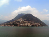 Switzerland - Lugano, Ticino canton: lake view - Lago Tesino - photo by J.Kaman