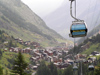 Switzerland - Zermatt, Valais canton: cable car - photo by J.Kaman