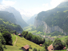 Switzerland / Suisse / Schweiz / Svizzera - Lauterbrunnen valley - Interlaken district - Bernese Oberland - photo by D.Hicks