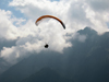 Switzerland / Suisse / Schweiz / Svizzera - Interlaken: parasailing - photo by D.Hicks
