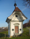 Switzerland / Suisse / Schweiz / Svizzera -  Fribourg / Freiburg: chapel at Montorge convent /  chapelle du couvent de montorge (photo by Christian Roux)