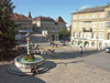 Switzerland / Suisse / Schweiz / Svizzera -  Fribourg / Freiburg: City Hall square (photo by Christian Roux)