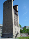 Switzerland / Suisse / Schweiz / Svizzera -  Fribourg / Freiburg:  Henri tower - 15th century /  tour henri 15eme (photo by Christian Roux)